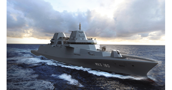 Thales équipera les futures frégates de la marine allemande