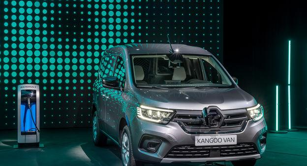 Renault dévoile son nouveau Kangoo Van en attendant un véhicule utilitaire à hydrogène