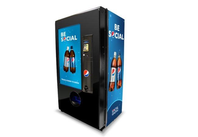 pepsi permet d offrir des boissons via sms boissons. Black Bedroom Furniture Sets. Home Design Ideas