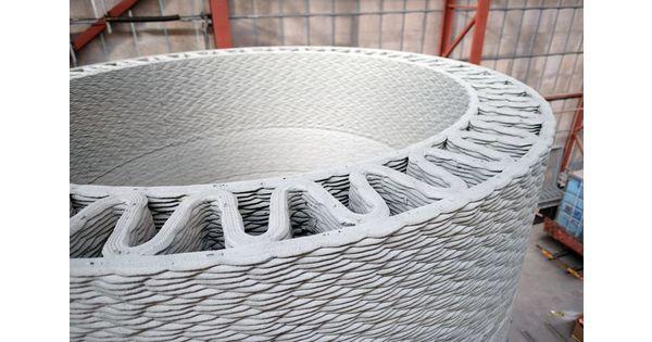 General Electric se met à l'impression 3D du béton pour agrandir ses éoliennes