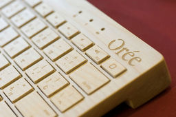 Orée, un clavier en bois à 80 % made in France