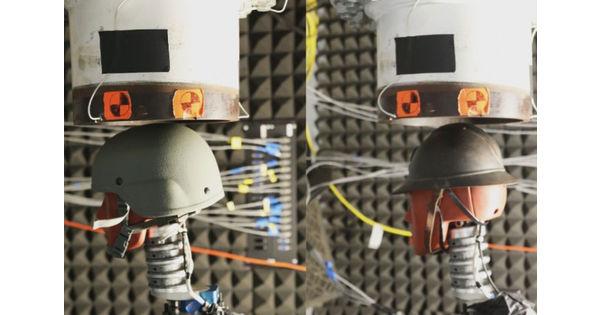 [L'industrie c'est fou] Le casque des Poilus surprend les scientifiques d'aujourd'hui par sa résistance - L'industrie c'est fou