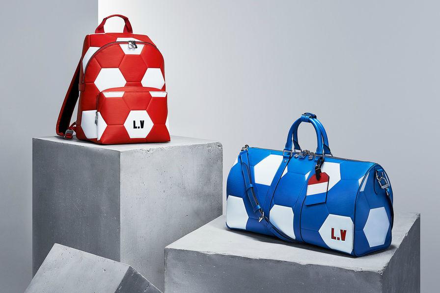 809a6efa36 [L'industrie c'est foot] Louis Vuitton revisite ses accessoires pour la