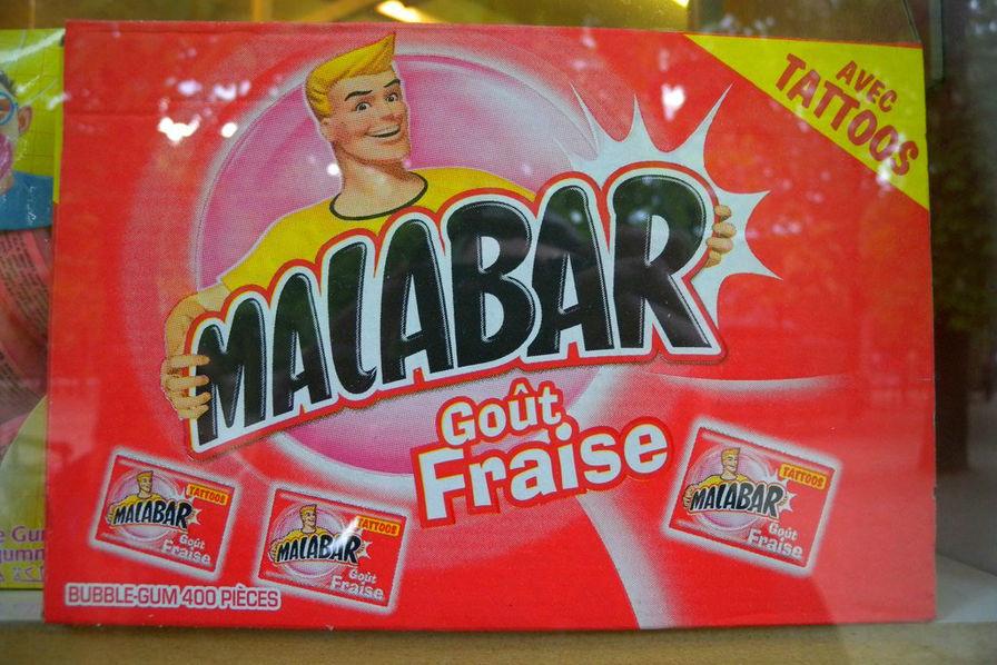 Les chewing-gums Malabar ne contiennent plus de dioxyde de titane