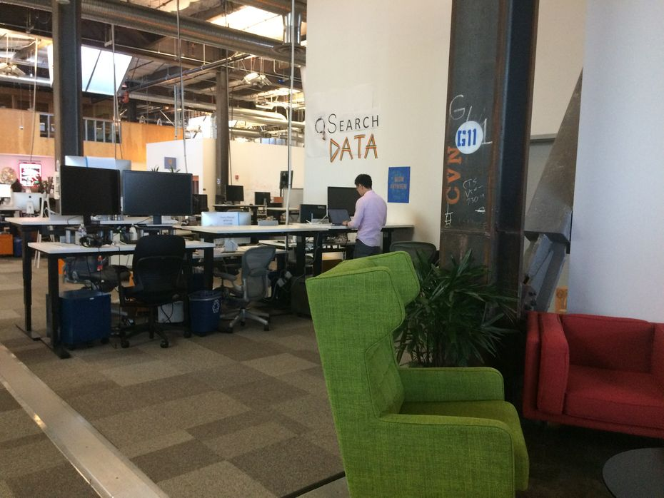 Photo de bureau de facebook fb nyc glassdoor