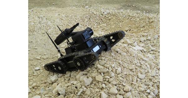 [Made in France] Des micro robots téléguidés en renfort des soldats de l'armée de Terre