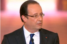 Chômage : François Hollande plus optimiste que l'Insee