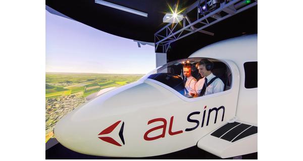 Alsim met au point un nouveau simulateur de vol - Inventé près de chez vous
