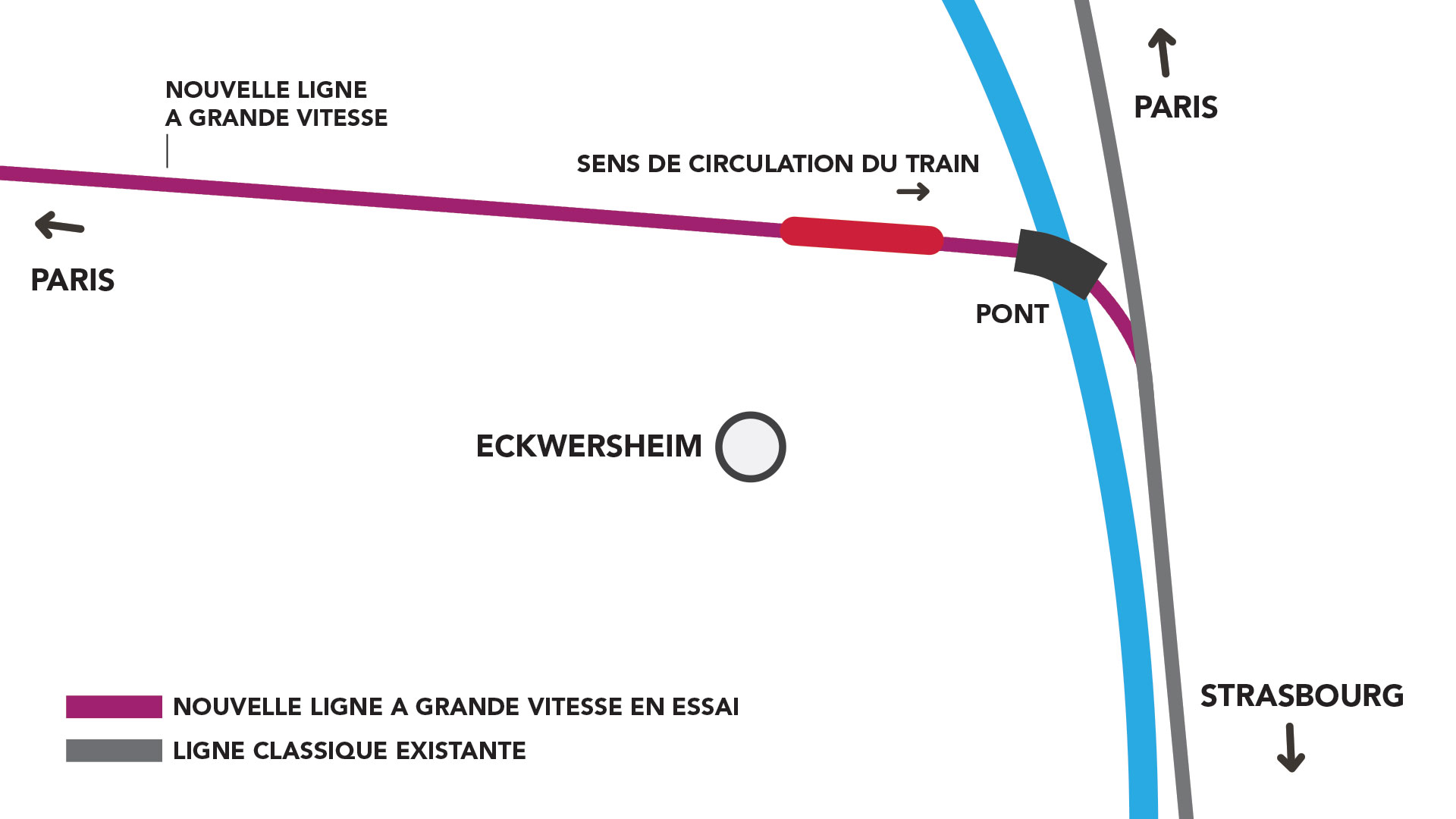 Ttracé TGV Eckersheim