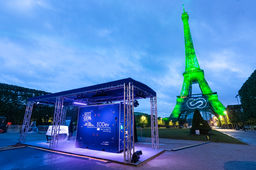 Tour Eiffel verte hydrogène EODev