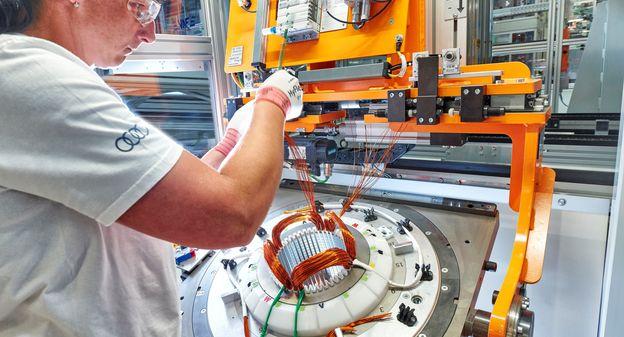 [[Sortie d'usine] Regardez comment Audi fabrique ses moteurs électriques] - Usine Nouvelle