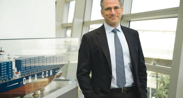 «CMA CGM va décupler son soutien à la production de biométhane», annonce Farid Trad, le directeur de la transition énergétique de l'armateur