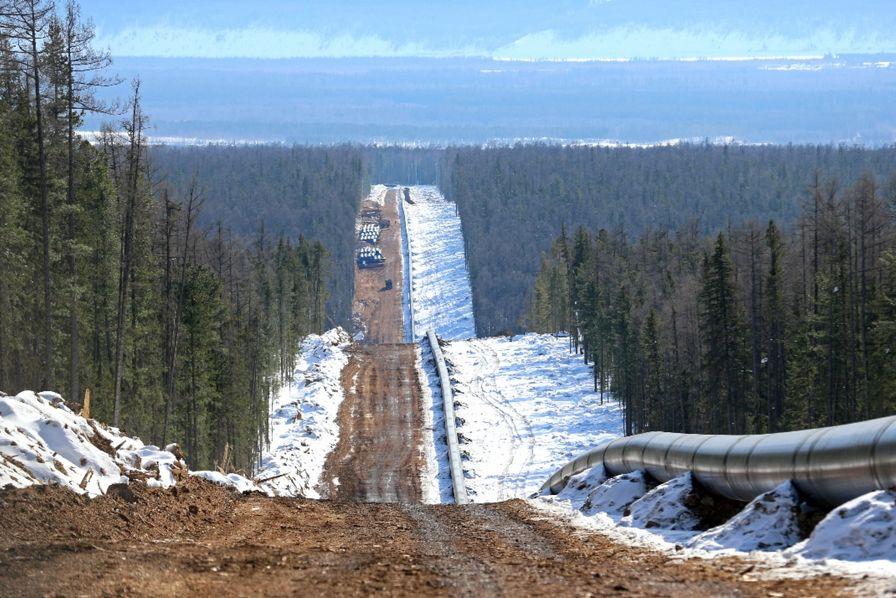[En images] La Russie a inauguré son premier gazoduc vers la Chine