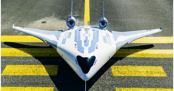 Airbus remet l'aile volante au goût du jour - Aviation civile