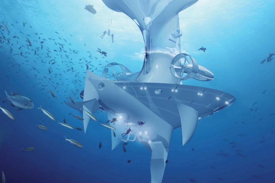 Q Marine Technology SeaOrbiter, un projet ...