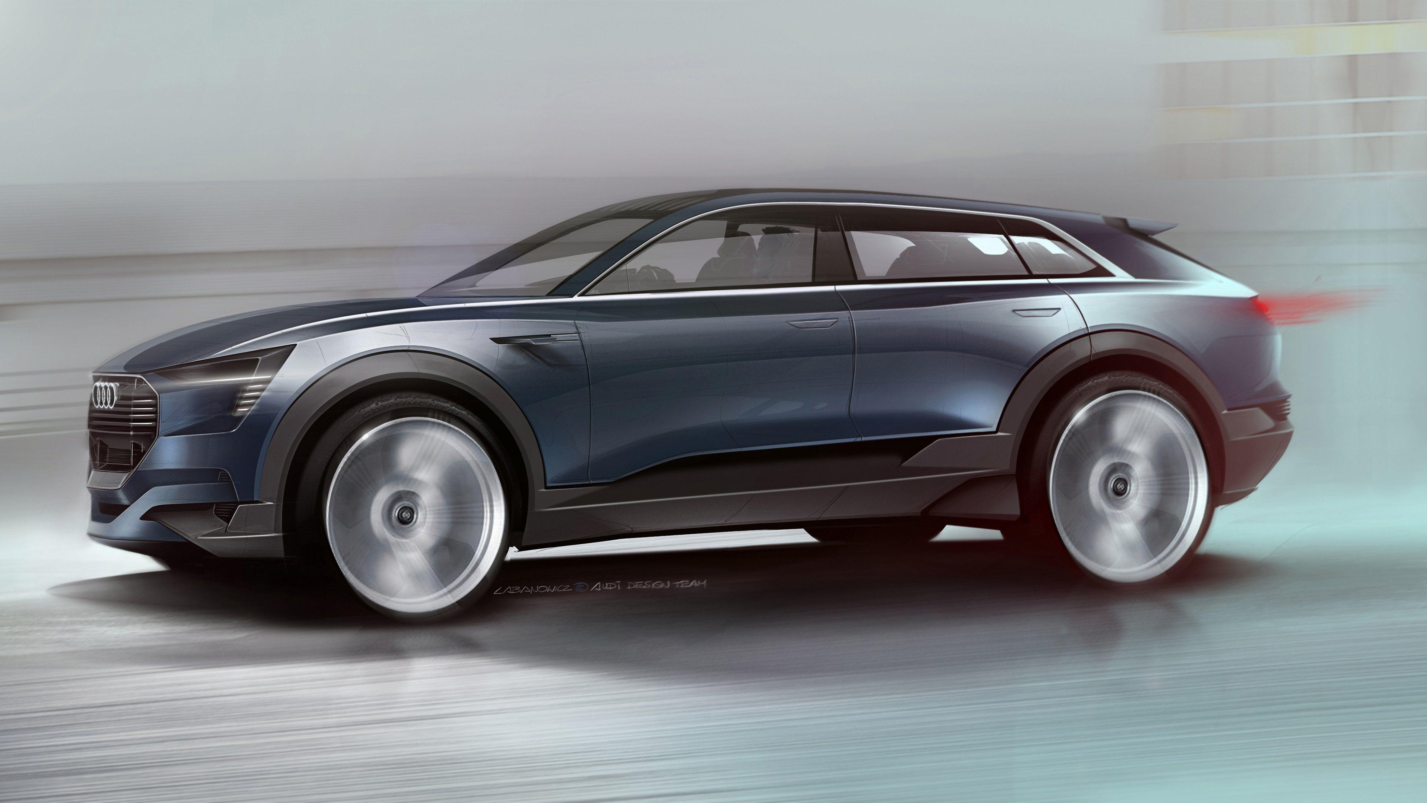 audi annonce une autonomie de 500 km pour son futur suv lectrique l 39 usine auto. Black Bedroom Furniture Sets. Home Design Ideas