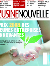Usine Nouvelle du 03 April 2008 N°3095