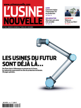 Usine Nouvelle du 26 March 2015 N°3416
